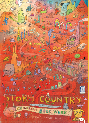 Book Week 2016 Poster- Shaun Tan