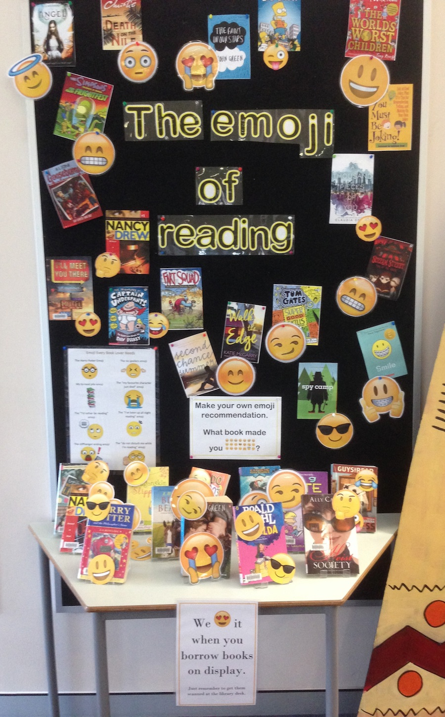 emoji-reading-display