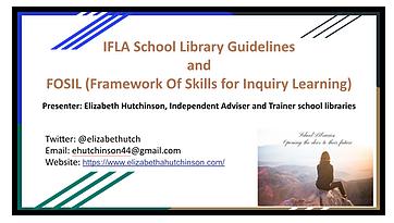 Elizabeth Hutchinson Moodle courses