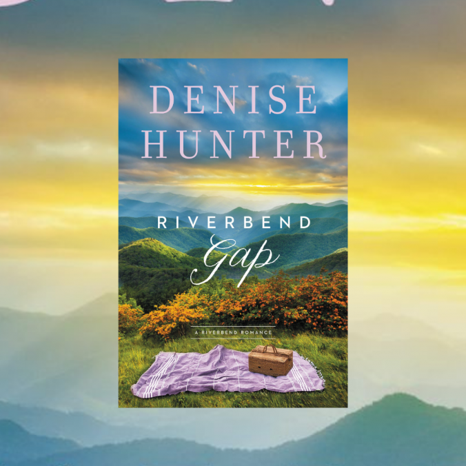 Book cover with sunrise over mountains in background